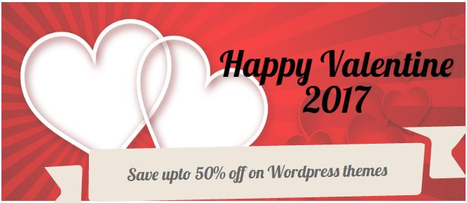 Wordpress Valentine Deals