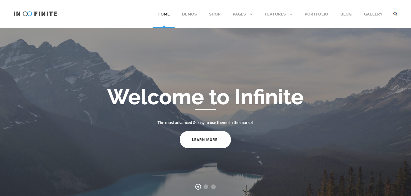 Infinite – Multi Purpose WordPress Theme
